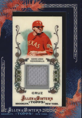 Photo of 2011 Topps Allen and Ginter Relics #NC Nelson Cruz