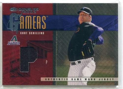 Photo of 2003 Donruss Gamers Position #25 Curt Schilling