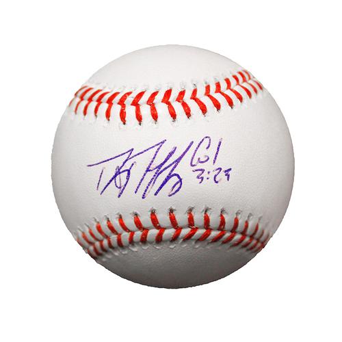 Photo of Danny Duffy Autographed Baseball