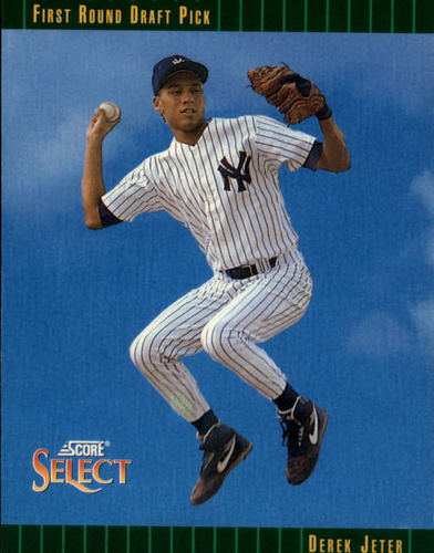 Photo of 1993 Select #360 Derek Jeter Rookie Card