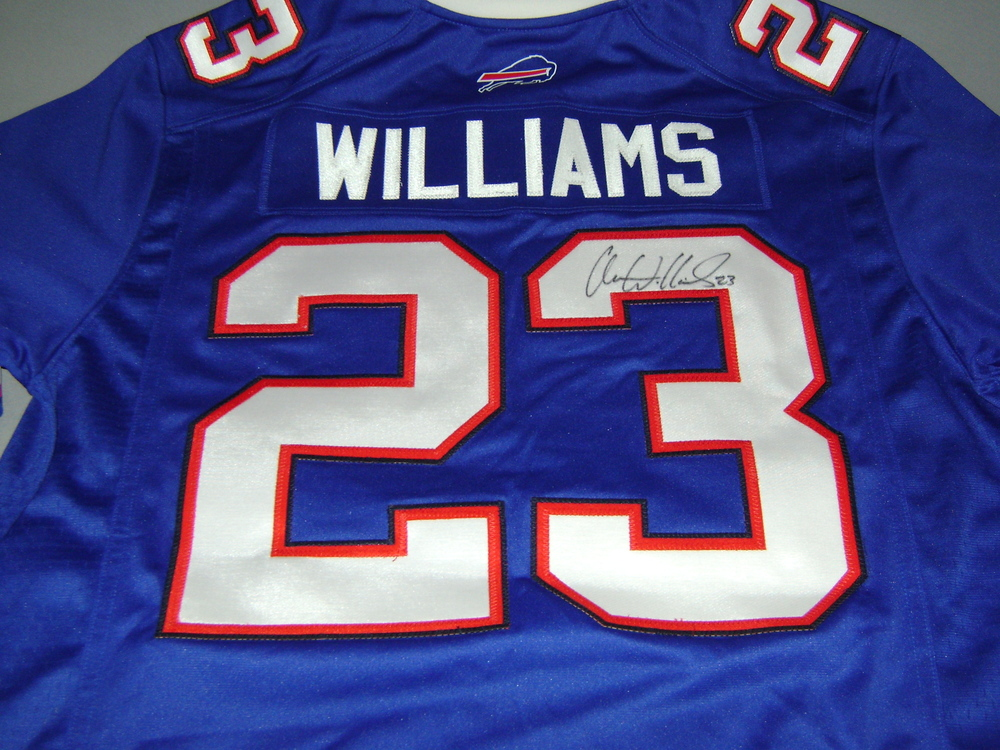aaron williams jersey