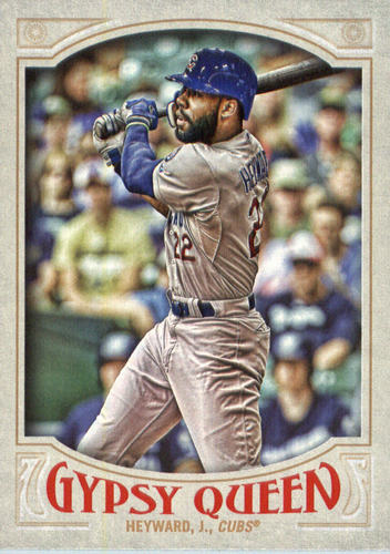 Photo of 2016 Topps Gypsy Queen #11 Jason Heyward