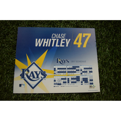 2017 Team-Issued Locker Tag - Chase Whitley