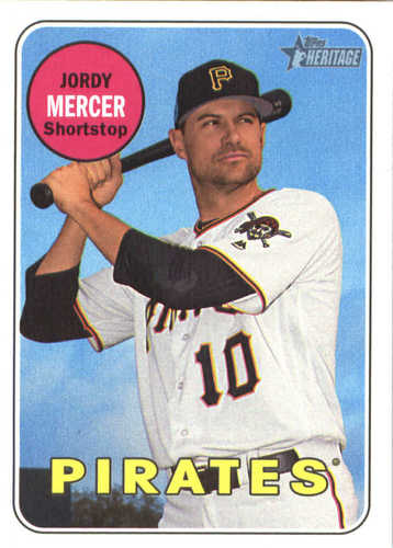 Photo of 2018 Topps Heritage #156 Jordy Mercer