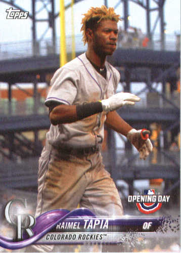 Photo of 2018 Topps Opening Day #40 Raimel Tapia