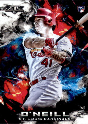 Photo of 2018 Topps Fire #128 Tyler O'Neill RC