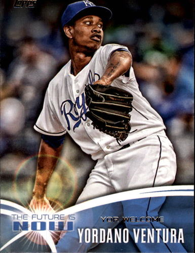 Photo of 2014 Topps The Future is Now #FNYV1 Yordano Ventura UPD