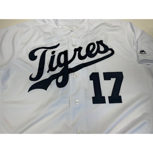 Photo of Team-Issued Fiesta Tigres Jersey: Grayson Greiner