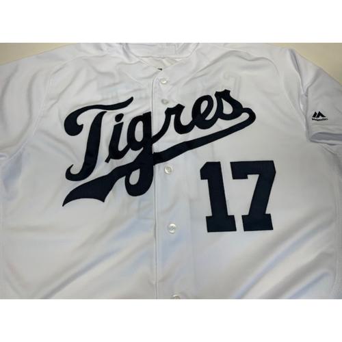 Team-Issued Fiesta Tigres Jersey: Grayson Greiner