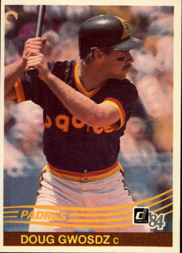 Photo of 1984 Donruss #383 Doug Gwosdz