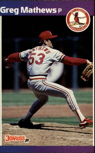 Photo of 1989 Donruss #281 Greg Mathews
