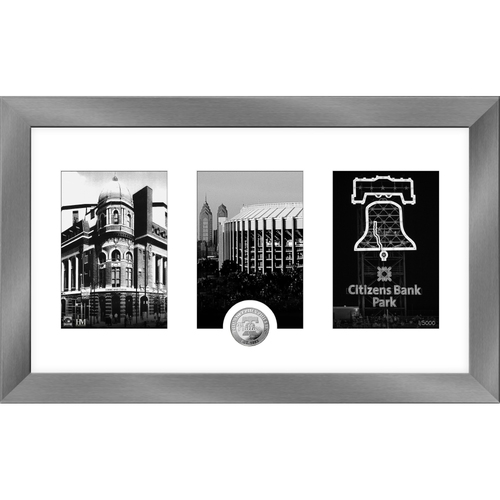 Photo of Philadelphia Phillies Art Deco Silver Coin Photo Mint