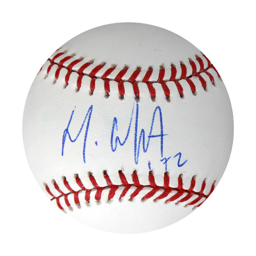 Photo of Autographed Baseball: Meibrys Viloria