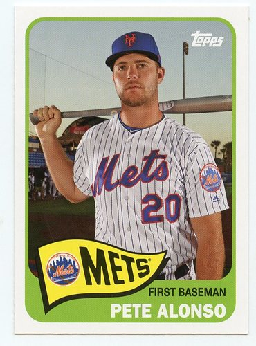 Photo of 2020 Topps Topps Choice #TC5 Pete Alonso