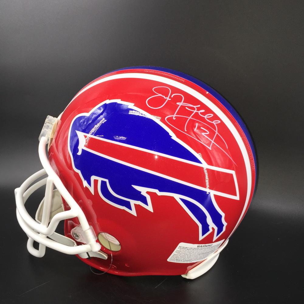 HOF - Bills Jim Kelly Signed Proline Helmet