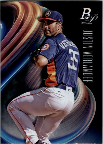 Photo of 2018 Bowman Platinum #95 Justin Verlander