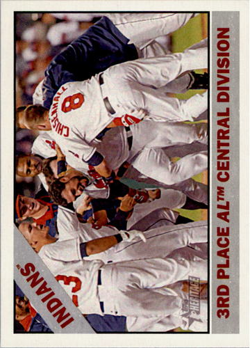 Photo of 2015 Topps Heritage #303 Cleveland Indians