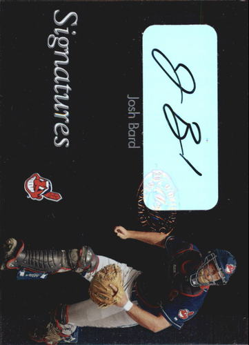 Photo of 2003 Leaf Clubhouse Signatures Silver #3 Josh Bard