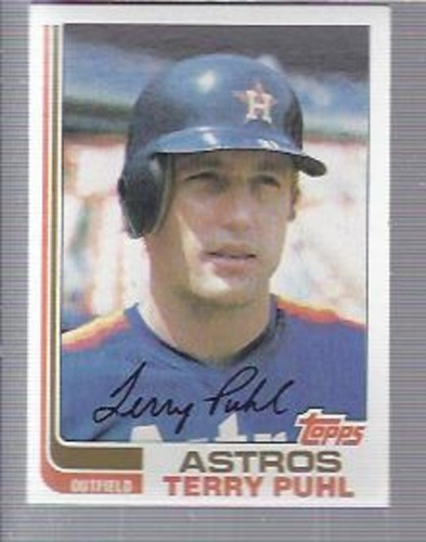 Photo of 1982 Topps #277 Terry Puhl