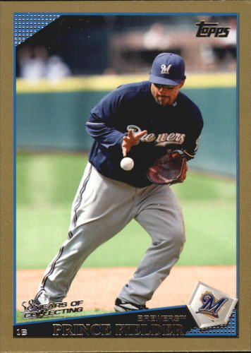 Photo of 2009 Topps Gold Border #480 Prince Fielder