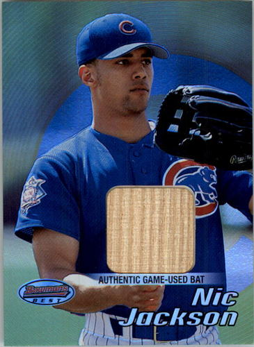 Photo of 2002 Bowman's Best #115 Nic Jackson Bat RC