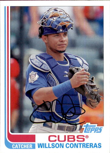 Photo of 2017 Topps Archives #143 Willson Contreras