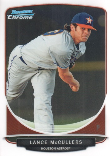 Photo of 2013 Bowman Chrome Prospects #BCP200A Lance McCullers