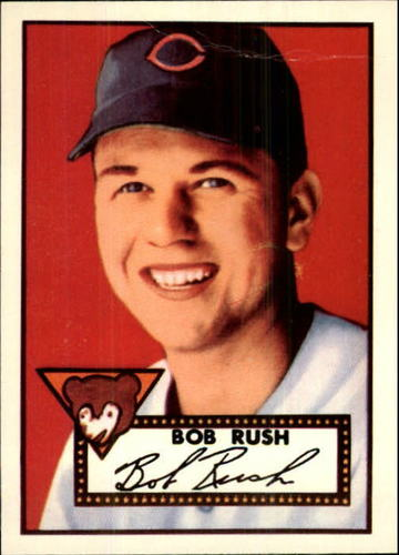 Photo of 1983 Topps 1952 Reprint #153 Bob Rush