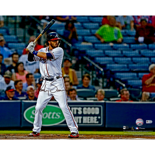 "Photo of Dansby Swanson Atlanta Braves Autographed 16"" x 20"" Photo"