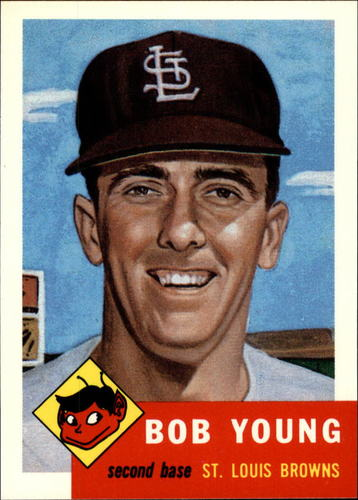 Photo of 1991 Topps Archives 1953 #160 Bob Young