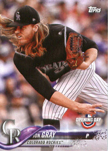 Photo of 2018 Topps Opening Day #42 Jon Gray
