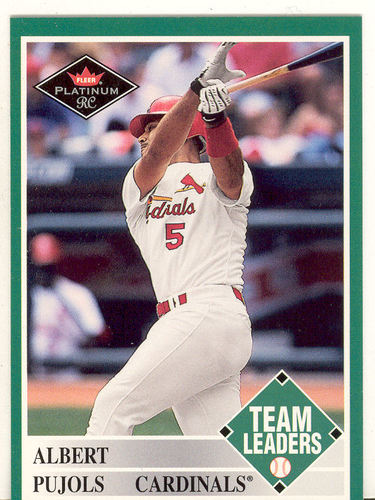 Photo of 2001 Fleer Platinum #435 Albert Pujols