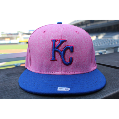 Photo of Game-Used Mother's Day Cap: Vance Wilson (Size 7 3/8 - KC at CLE - 5/13/18)