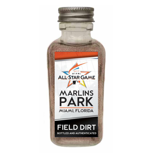 Photo of 2017 MLB All-Star Game Dirt Jar - Marlins Park