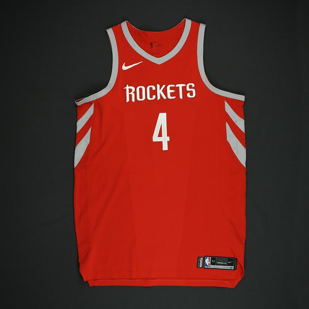 PJ Tucker - Houston Rockets - NBA Christmas Day '17 Game-Worn Jersey