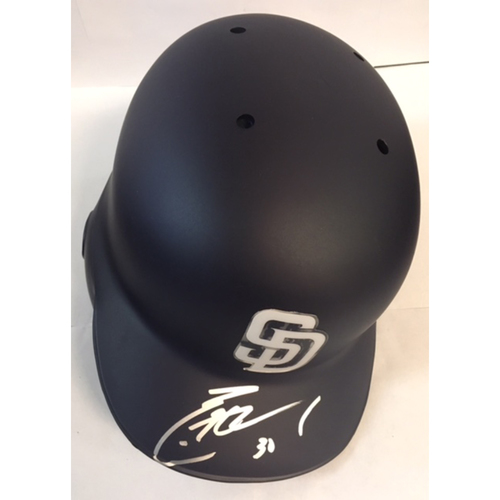 Photo of Eric Hosmer Autographed Padres Batting Helmet