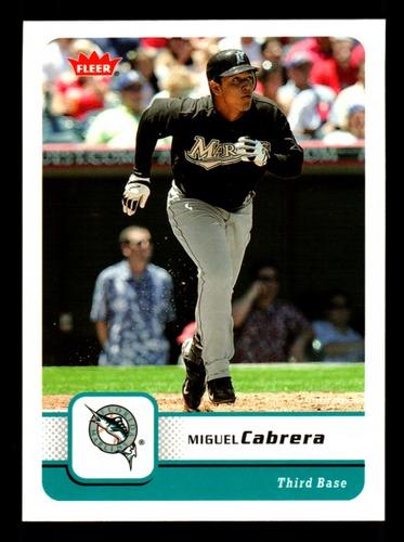 Photo of 2006 Fleer #199 Miguel Cabrera