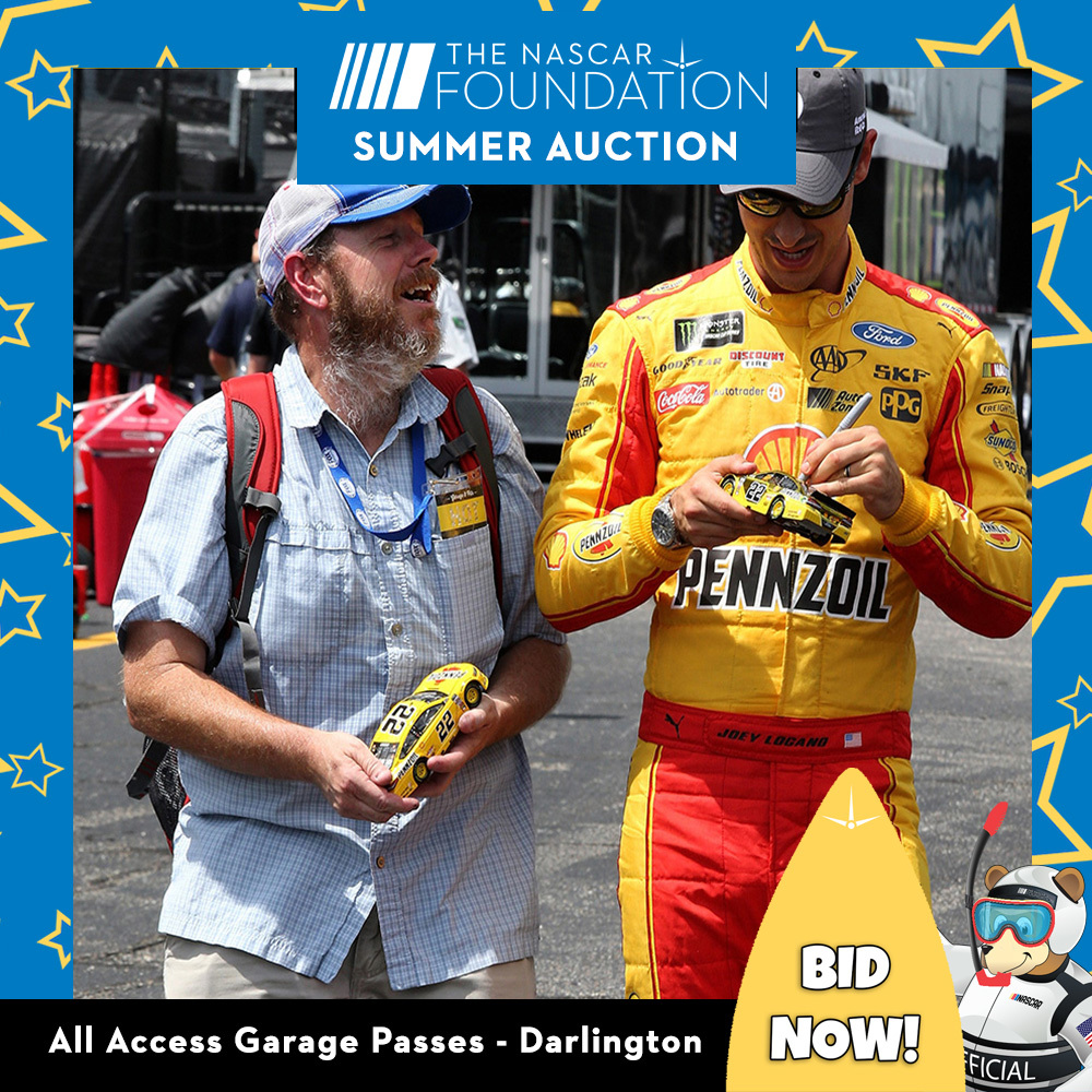 All Access Garage Passes at Darlington benefitting The Paralyzed Veterans of America!!