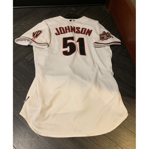 Photo of D-backs 10-Year Anniversary Jersey - 2015 Hall of Fame Inductee Randy Johnson