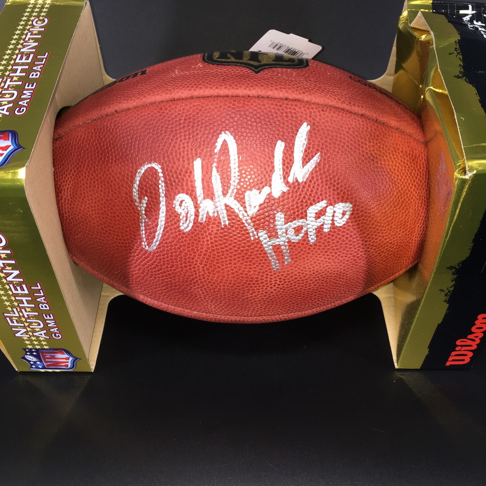 HOF - Vikings John Randle Signed Authentic Football