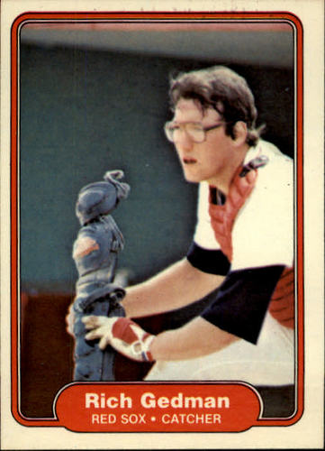 Photo of 1982 Fleer #294 Rich Gedman