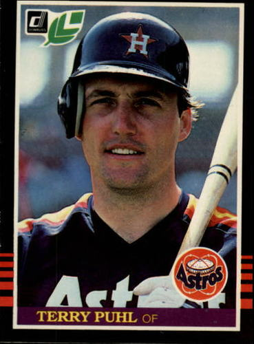 Photo of 1985 Leaf/Donruss #80 Terry Puhl