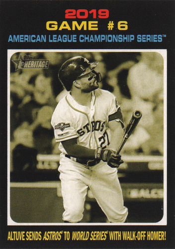 Photo of 2020 Topps Heritage #200 Jose Altuve PO HL