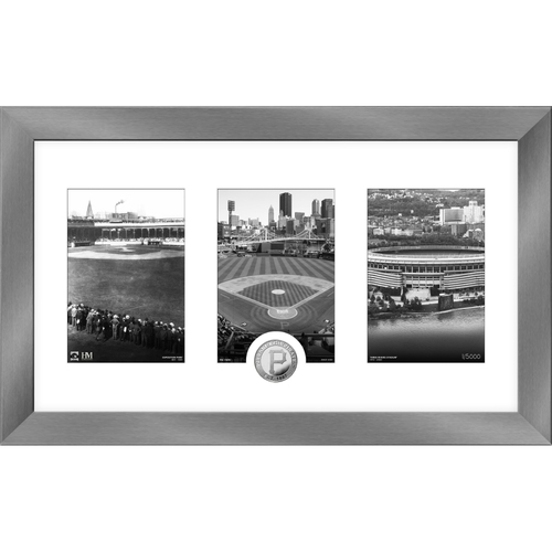 Photo of Pittsburgh Pirates Art Deco Silver Coin Photo Mint