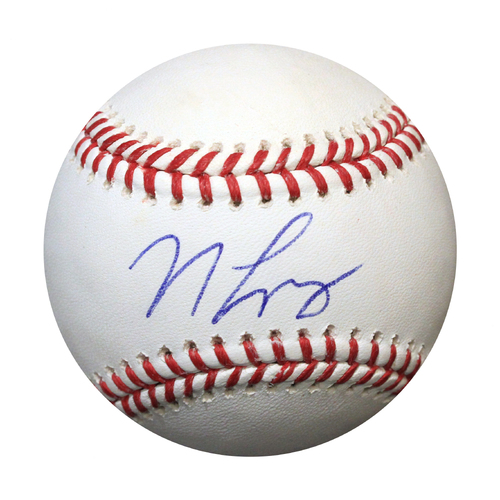 Photo of Autographed Baseball: Nicky Lopez