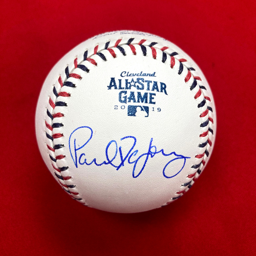 Photo of Paul DeJong Autographed 2019 All Star Game Baseball