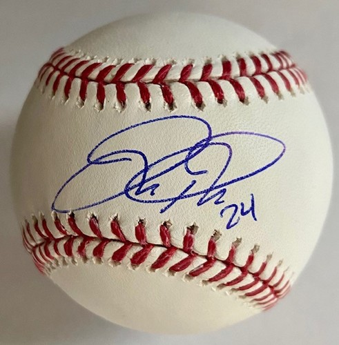 Photo of Joc Pederson Autographed Baseball