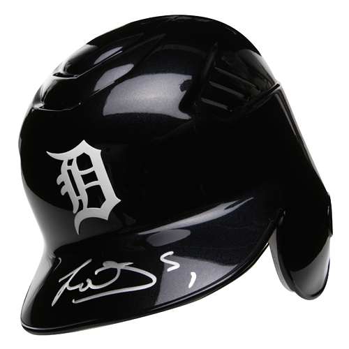 Photo of Detroit Tigers Jose Iglesias Autographed Helmet - Helmet Size -  7 1/8