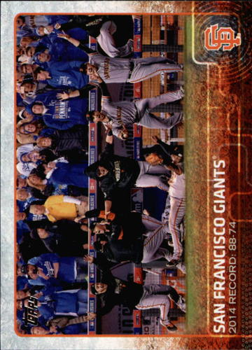 Photo of 2015 Topps #460 San Francisco Giants