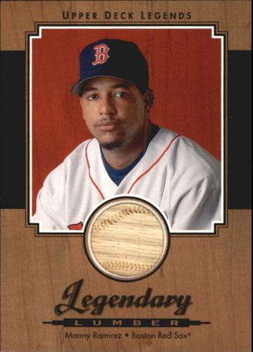 Photo of 2001 Upper Deck Legends Legendary Lumber #LMR Manny Ramirez Sox